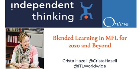 Blended Learning in MFL for 2020 and beyond tickets