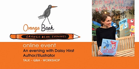 An online talk and Q&A with Children's Book author/illustrator Daisy Hirst tickets