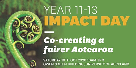 Year 11 - 13 Impact Day tickets