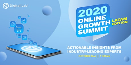 2020 Online Growth Summit  LATAM Edition boletos