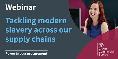 Tackling modern slavery in our supply chains tickets