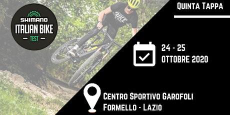 Shimano Italian Bike Test - Lazio biglietti