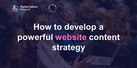 How to develop a powerful website content strategy tickets