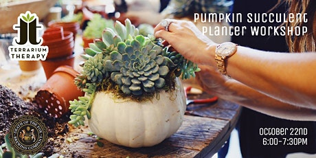 SOLD OUT - Pumpkin Succulent Workshop at Death of the Fox Brewing Company tickets