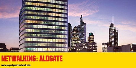 NETWALKING ALDGATE: Property & Construction networking in aid of LandAid tickets