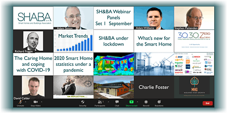 Smart Home Webinars for Week commencing November 2nd - Series 1 tickets