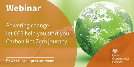 Powering change - let CCS help you start your Carbon Net Zero Journey tickets