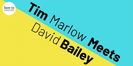 An Evening With David Bailey | In Conversation With Tim Marlow tickets