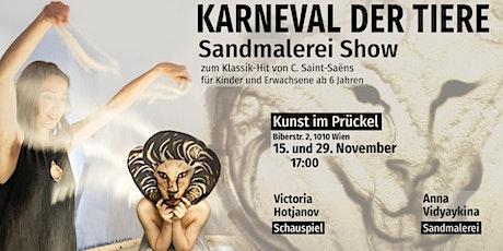 Karneval der Tiere. Sandmalerei Show  6+ Tickets