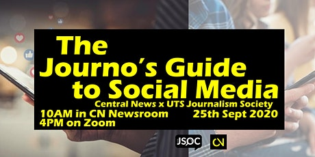 The Journo's Guide to Social Media tickets