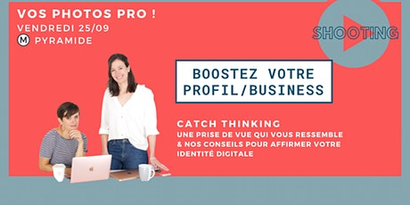 MES PHOTOS PRO + BOOSTER MON PROFIL/ MON BUSINESS billets