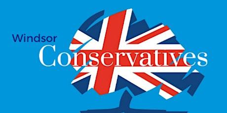 Windsor Conservatives host Dr Ben Spencer, MP for Runnymede tickets