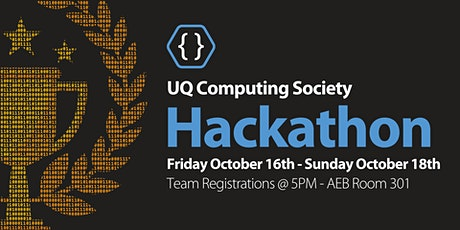 UQCS Hackathon 2020 tickets