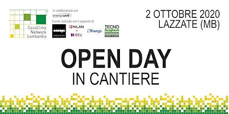 Open Day Villa in legno certificata CasaClima Gold biglietti