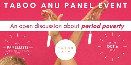 TABOO ANU Panel Event tickets