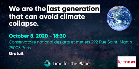 Time For The Planet at CNAM ! tickets