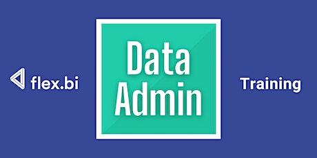 Data Admin - Open Group Training tickets