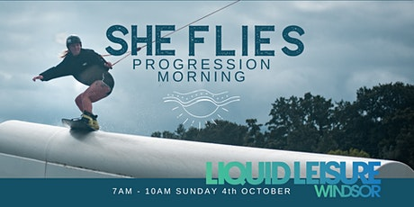 She Flies Wakeboard Progression Morning tickets