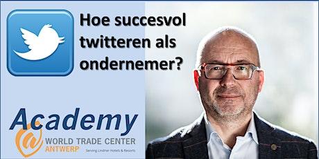 WTC Academy -  Hoe succesvol twitteren als ondernemer? tickets