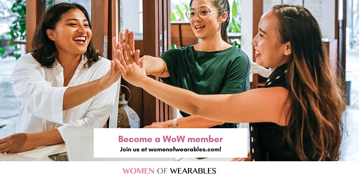 WoW Members' Meet & Greet - Wearables, HealthTech, FemTech, IoT, Fashion image