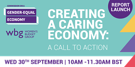 Creating a caring economy: a call to action tickets