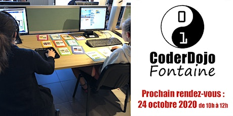CoderDojo Fontaine - 24/10/2020 billets