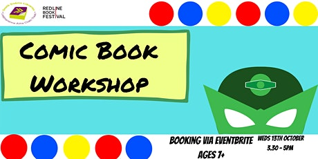 Comic Book Workshop with storyteller and illustrator Fiona Dowling via Zoom tickets