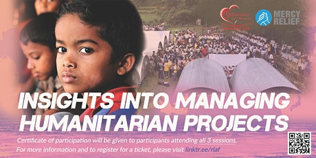 Insights to Managing Humanitarian Projects : Webinar 1-3