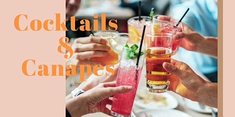 Cocktails and Canapes Thermomix Workshop tickets