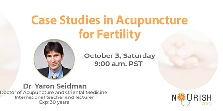 Case Studies in Acupuncture for Fertility tickets