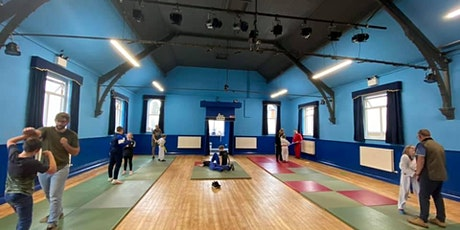 LJJ Juniors 6-15 years MEMBERS ONLY - Coalville INDOOR Jujitsu training tickets