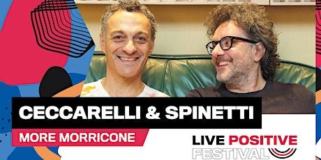Ceccarelli & Spinetti: More Morricone biglietti