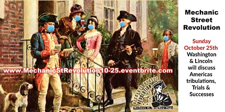 Lunch/Historical Reenactment w/George Washington & Abe Lincoln tickets