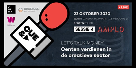 CUE&A - Sessie 4: Let's talk money w/ Amplo tickets