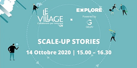 Scale-up Stories biglietti