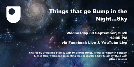 Ask the Expert Session - Things that go bump in the night sky tickets