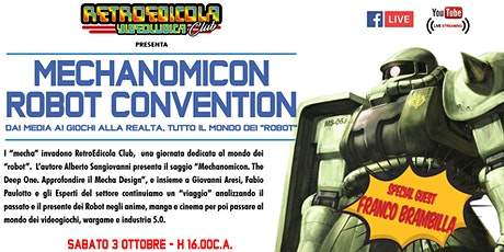 Mechanomicon Robot Convention biglietti