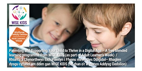 Parenting and Supporting Your Child to Thrive in a Digital Age tickets