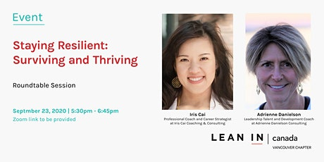 Lean In Canada Vancouver: Staying Resilient: Surviving & Thriving tickets