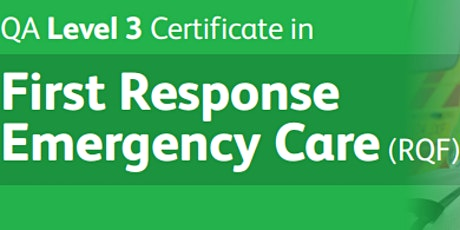 QA Level 3 First Response Emergency Care Frec3 (Requal course)
