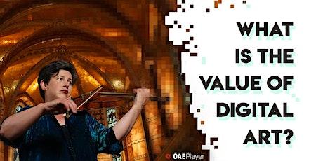 #ValueOfDigitalArt Live Panel Q&A tickets
