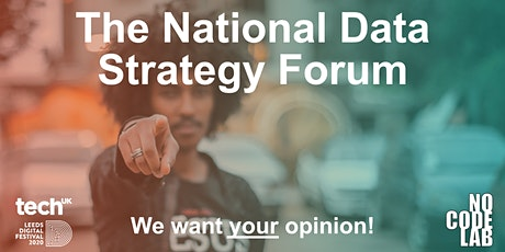 The National Data Strategy Forum tickets
