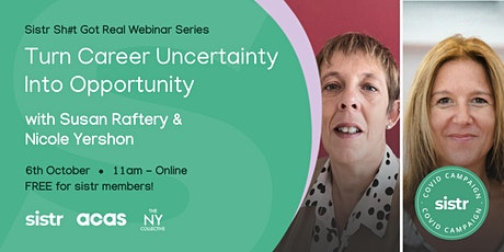 Turning Career Uncertainty Into Opportunity tickets
