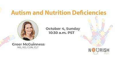 Autism and Nutrition Deficiencies