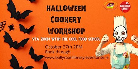 Halloween Cookery Workshop via Zoom tickets