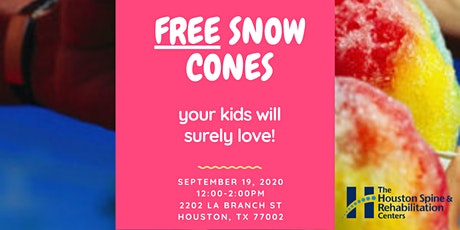 FREE Snow Cones & Ice Cream tickets