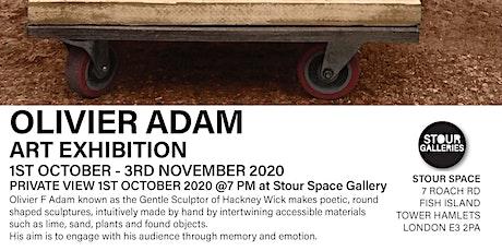 Private View OLIVIER ADAM Art Exhibition tickets