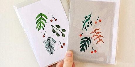 Festive Foliage: Card-Making Workshop tickets