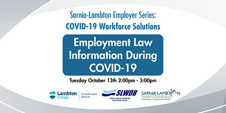 Employment Law Information During Covid-19 tickets