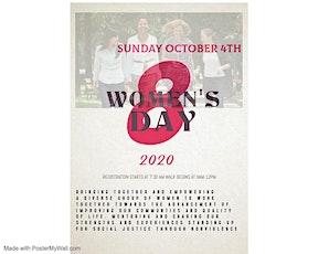 WOMEN'S DAY WALK ( WOMEN APPLYING POWER) 3-5K WALK tickets